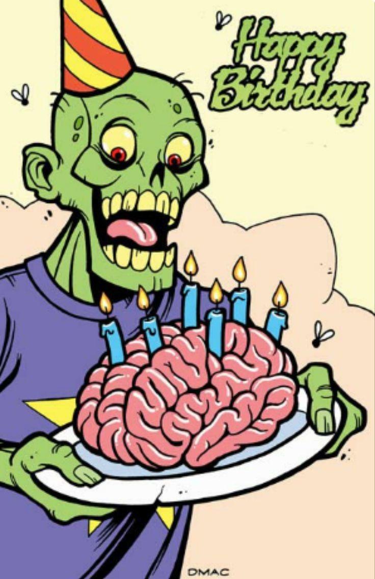 Мерзкие открытки на день рождения